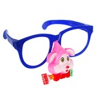 Карнавальные очки «Собачка», ГИГАНТ, с носом и язычком, цвета МИКС