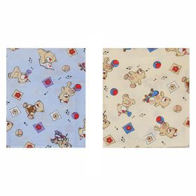 Детское постельное бельё Galtex 'Медвежата', цвет микс, 147х112см, 150х100см, 40х60см 1шт, бязь 120±6 г/м Ош