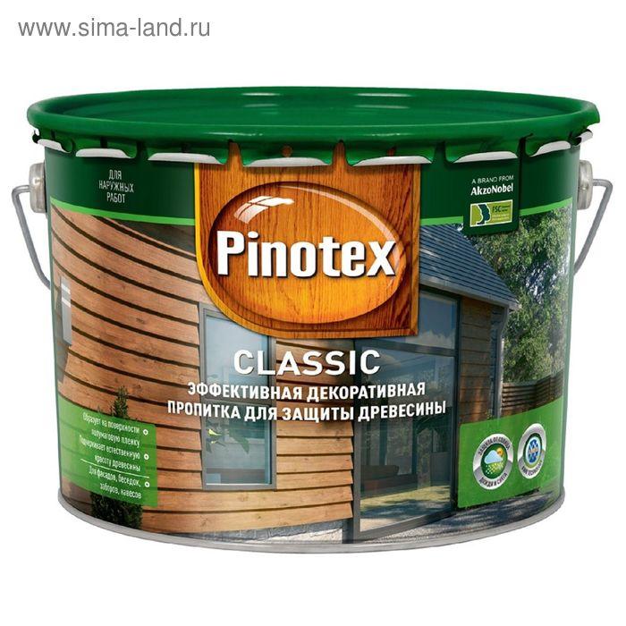 """Антисептик Pinotex CLR """"Классик"""", бесцветный, 10 л"""