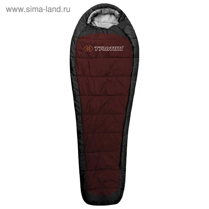 Спальный мешок Trimm Lite IMPACT, красный, 195 L,  полиэстр, DWR, 230 *50 * 85см,до -10С