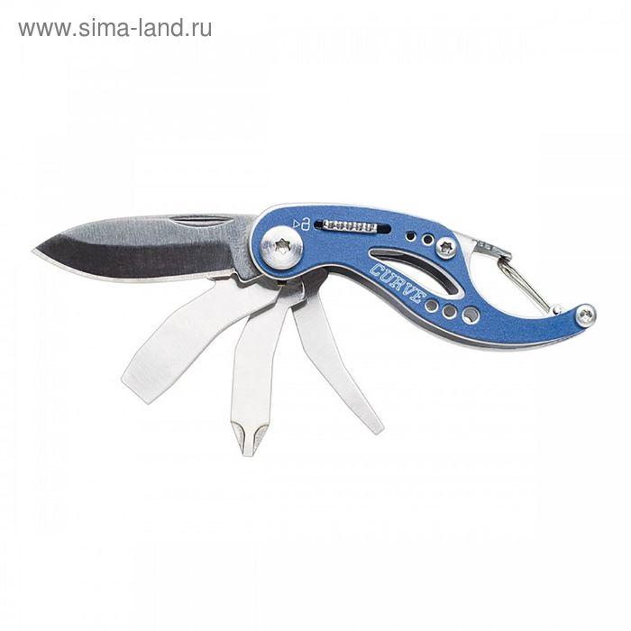 Мультитул Gerber Curve, синий, блистер