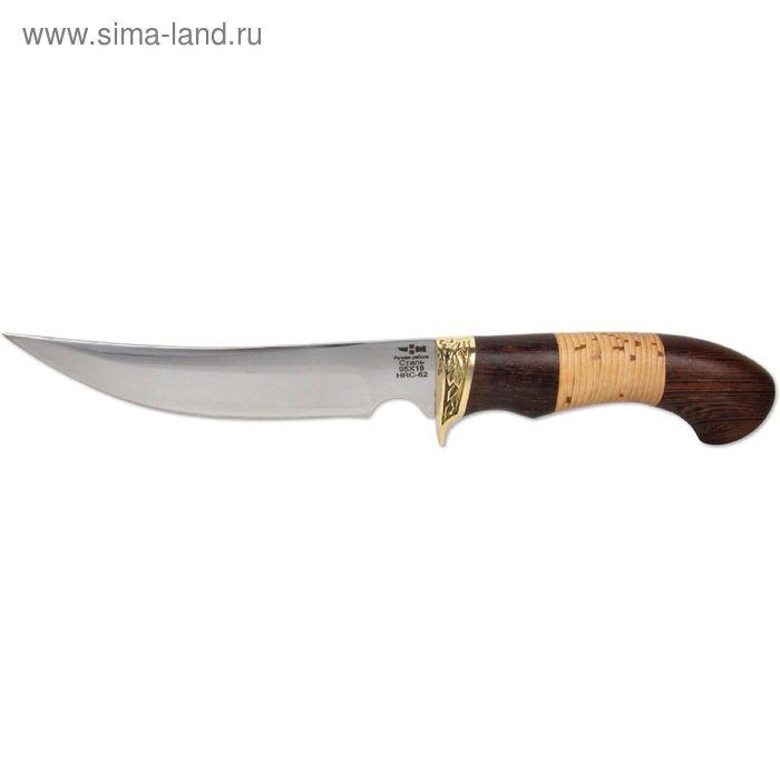 Нож нескладной кованая сталь РЫБАЦКИЙ (3372)к, рукоять-венге/береста, сталь 95х18