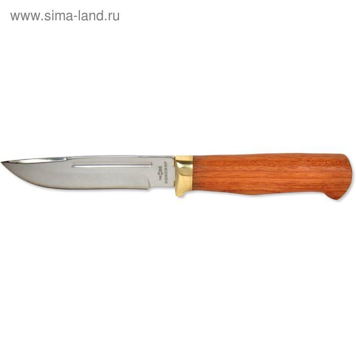 """Нож нескладной H-168-2 """"Ножемир"""", рукоять-дерево, сталь 40х13"""