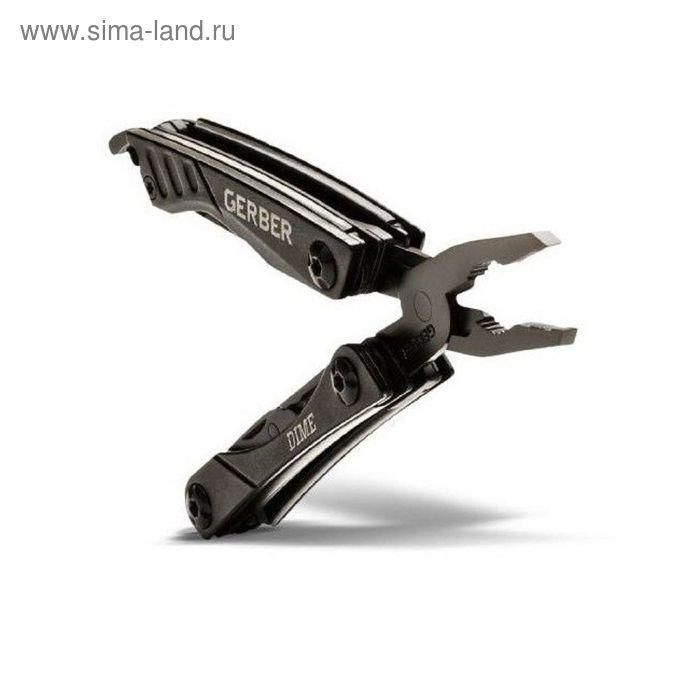 Мультитул Gerber Tactical Dime Micro Tool, черный, блистер