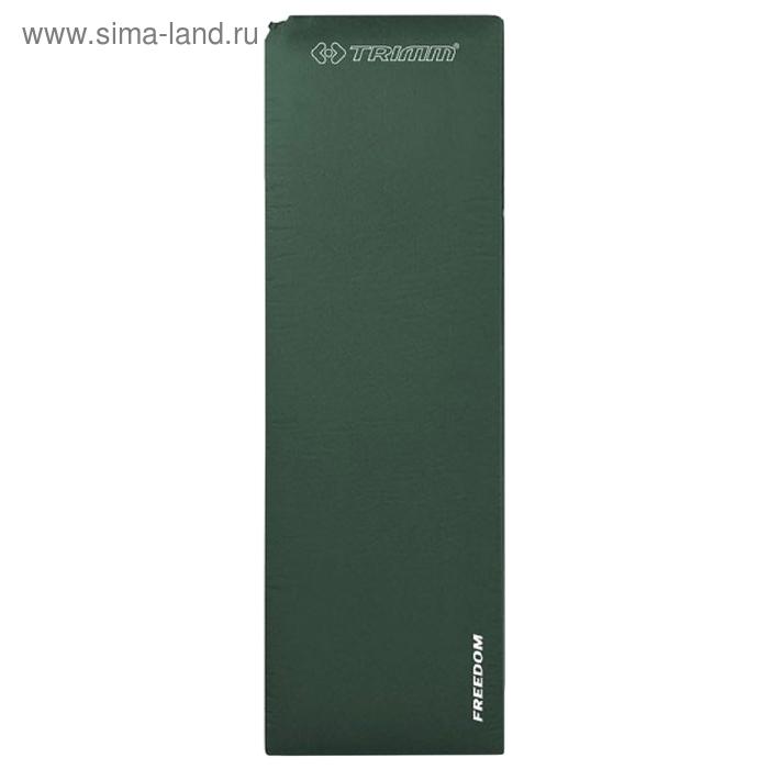 Коврик самонадувающийся Trimm Comfort FREEDOM, оливковый, 193 х 64 х 5 см