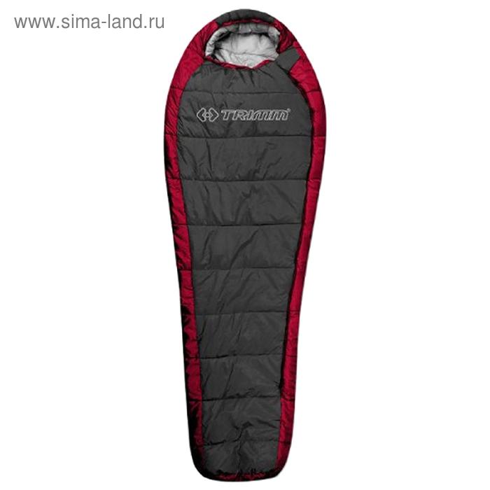 Спальный мешок Trimm Trekking HIGHLANDER, красный, 195 R,полиэстр, нейлон,230 см *58 см * 85 см,-20С