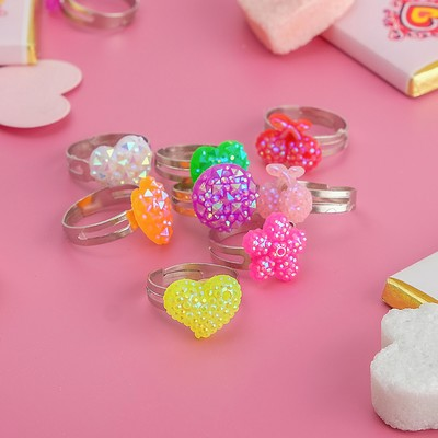 Ring baby Assorted spangle MIX color, dimensionless, form MIX