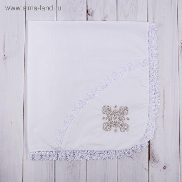 Уголок для новорожденного, размер 75*75 см, цвет белый К37