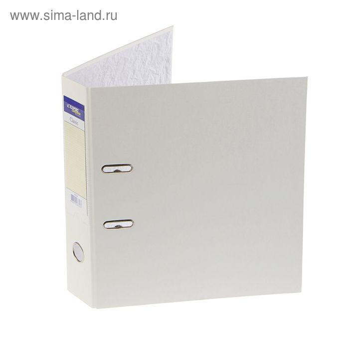 Папка-регистратор 50мм PVC Classic, разборный, белый 2518097