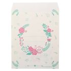 Пакетик подарочный «Нежные цветы», 13 × 16 см