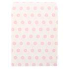 Пакетик подарочный «Нежно-розовый горох», 13 × 16 см