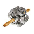 Прибор для вырезания пончиков 17х15,5 см