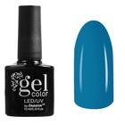 Гель-лак для ногтей трёхфазный LED/UV, 10мл, цвет В2-019 голубой