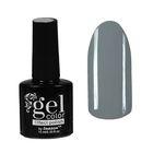 Лак для ногтей с эффектом гелевого покрытия 10мл 2737-16 светло-серый