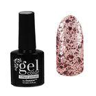 Лак для ногтей с эффектом гелевого покрытия 10мл 2737-36 розовый конфетти