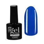 Лак для ногтей с эффектом гелевого покрытия 10мл 2737-25 ярко-синий