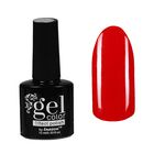 Лак для ногтей с эффектом гелевого покрытия 10мл 6602-6 красный