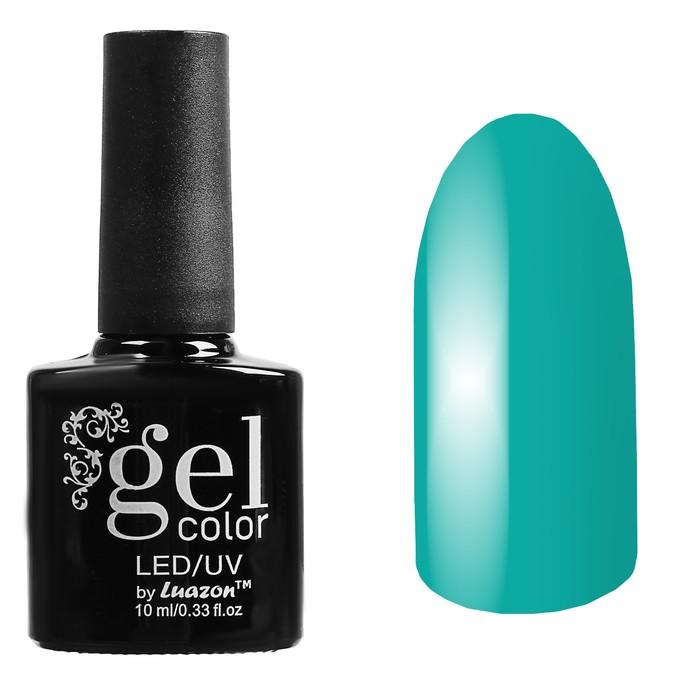Гель-лак для ногтей трёхфазный LED/UV, 10мл, цвет В2-020 зелёный
