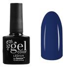 Гель-лак для ногтей трёхфазный LED/UV, 10мл, цвет В2-023 тёмно-синий