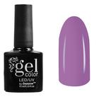Гель-лак для ногтей трёхфазный LED/UV, 10мл, цвет В2-027 светло-сиреневый