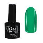 Гель-лак для ногтей трёхфазный LED/UV, 10мл, цвет В2-040 зелёный