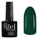 Гель-лак для ногтей трёхфазный LED/UV, В2-048, 10мл, цвет зелёный