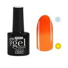 """Гель-лак для ногтей """"Термо"""", 10мл, LED/UV, цвет А2-011 неоновый оранжевый"""