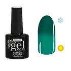 "Гель-лак для ногтей ""Термо"", 10мл, LED/UV, цвет А2-027 зелёный"