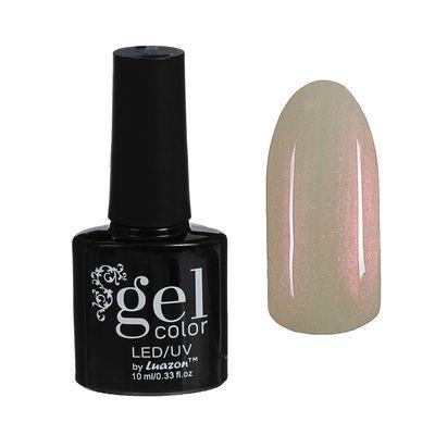 Гель-лак для ногтей трёхфазный LED/UV, 10мл, цвет В2-075 бело-розовый перламутровый