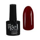 Гель-лак для ногтей трёхфазный LED/UV, с блёстками, 10мл, цвет В2-093 тёмно-красный