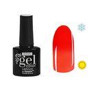 """Гель-лак для ногтей """"Термо"""", 10мл, LED/UV, цвет 020А1 коралловый"""