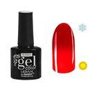 """Гель-лак для ногтей """"Термо"""", 10мл, LED/UV, цвет 024А1 красное яблоко"""