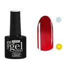 """Гель-лак для ногтей """"Термо"""", 10мл, LED/UV, цвет 028А1 бордовый"""