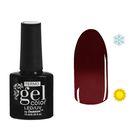 """Гель-лак для ногтей """"Термо"""", 10мл, LED/UV, цвет 032А1 красное вино"""