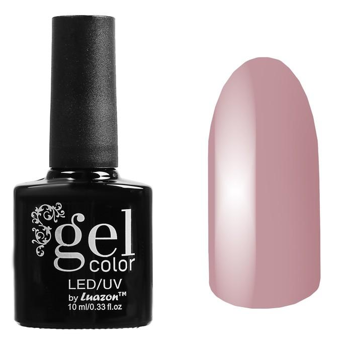 Гель-лак для ногтей трёхфазный LED/UV, 10мл, цвет В1-019 пудровый - фото 1662295