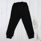 Кальсоны для мальчика, рост 92 см, цвет чёрный М424_М