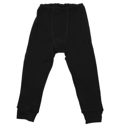 Кальсоны для мальчика, рост 104 см, цвет чёрный М424_Д