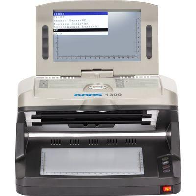 Детектор банкнот DORS 1300 М2, просмотровый, универсальный, гарантия СЦ – 1 год