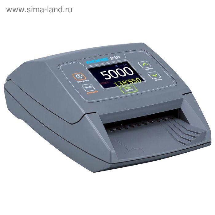 Детектор банкнот DORS 210 автоматический для российских рублей