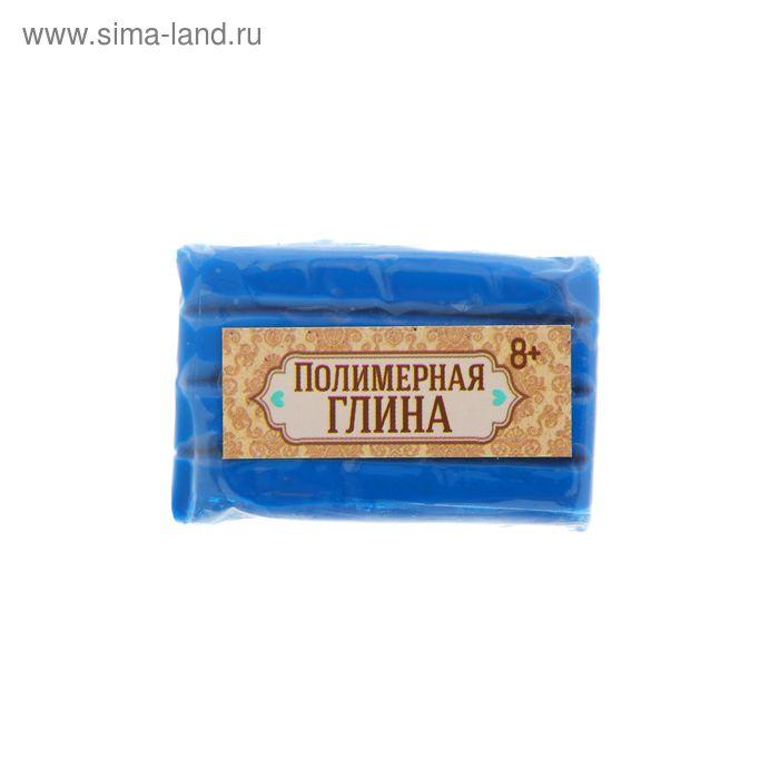 Полимерная глина 20 гр, цвет неон синий