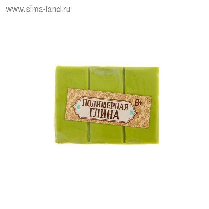 Полимерная глина 30 гр, цвет светло зеленый