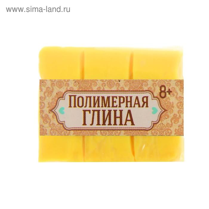 Полимерная глина 30 гр, цвет неон нежно-желтый