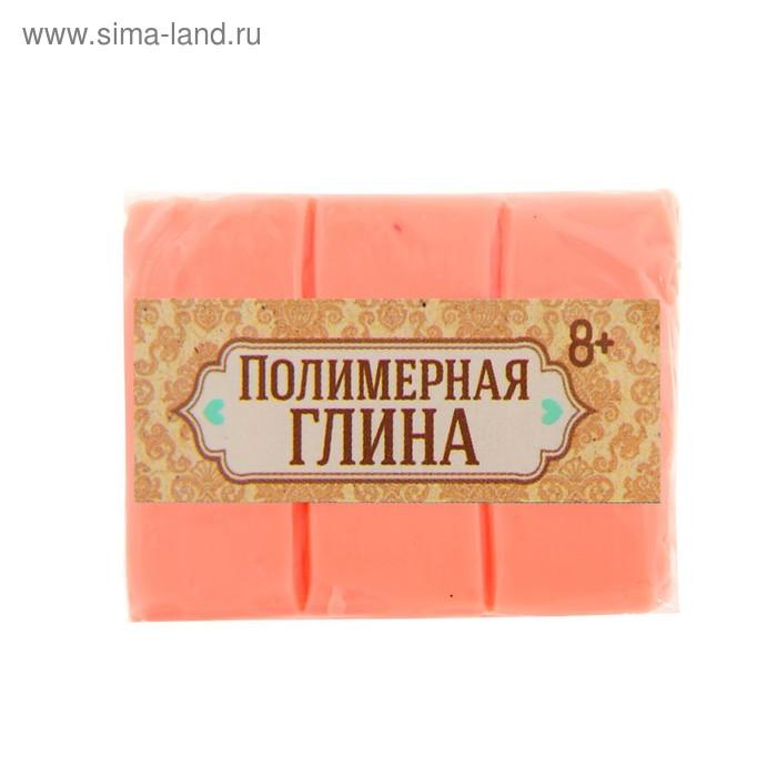 Полимерная глина 30 гр, цвет неон светло-оранжевый