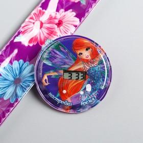 """Часы наручные электронные """"Феи Винкс: Блум"""", 22,5 х 4,5 см"""