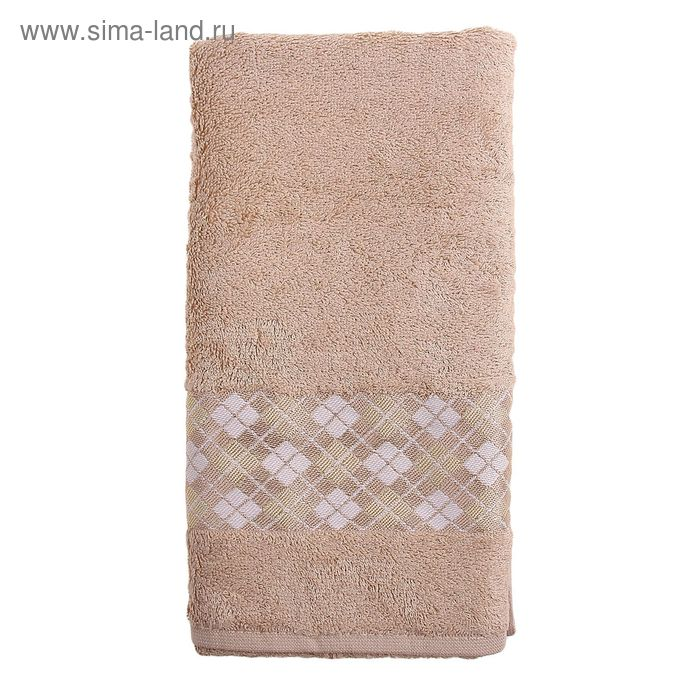 Полотенце DO&CO ECOSE 50*90 см бежевый, бамбук, 460 гр/м