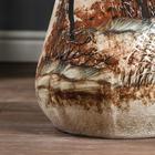 """Ваза напольная """"Лилия"""" под шамот, природа, 67 см, микс, керамика - фото 891660"""