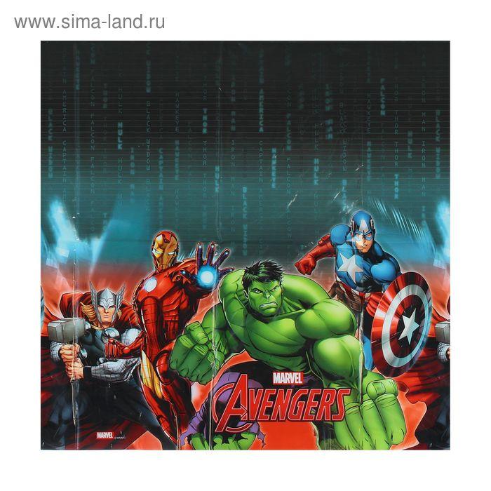"""Скатерть 120*180 см """"Мстители"""" / Avengers Power"""