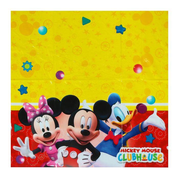Скатерть «Игривый Микки Маус»,120х180 см