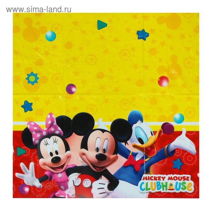 """Скатерть 120*180 см """"Игривый Микки Маус"""" / Playful Mickey"""