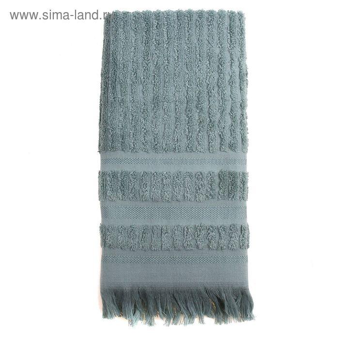 Полотенце DO&CO MELISSA 70*140 см голубой, бамбук, 460 гр/м